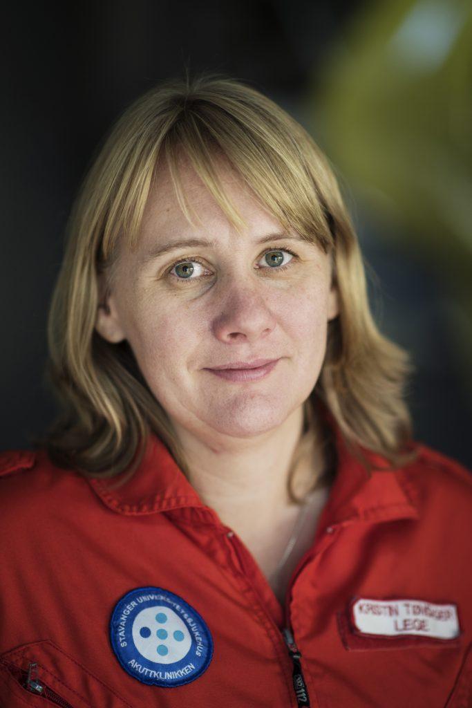 Luftambulanselege Kristin Tønsager.