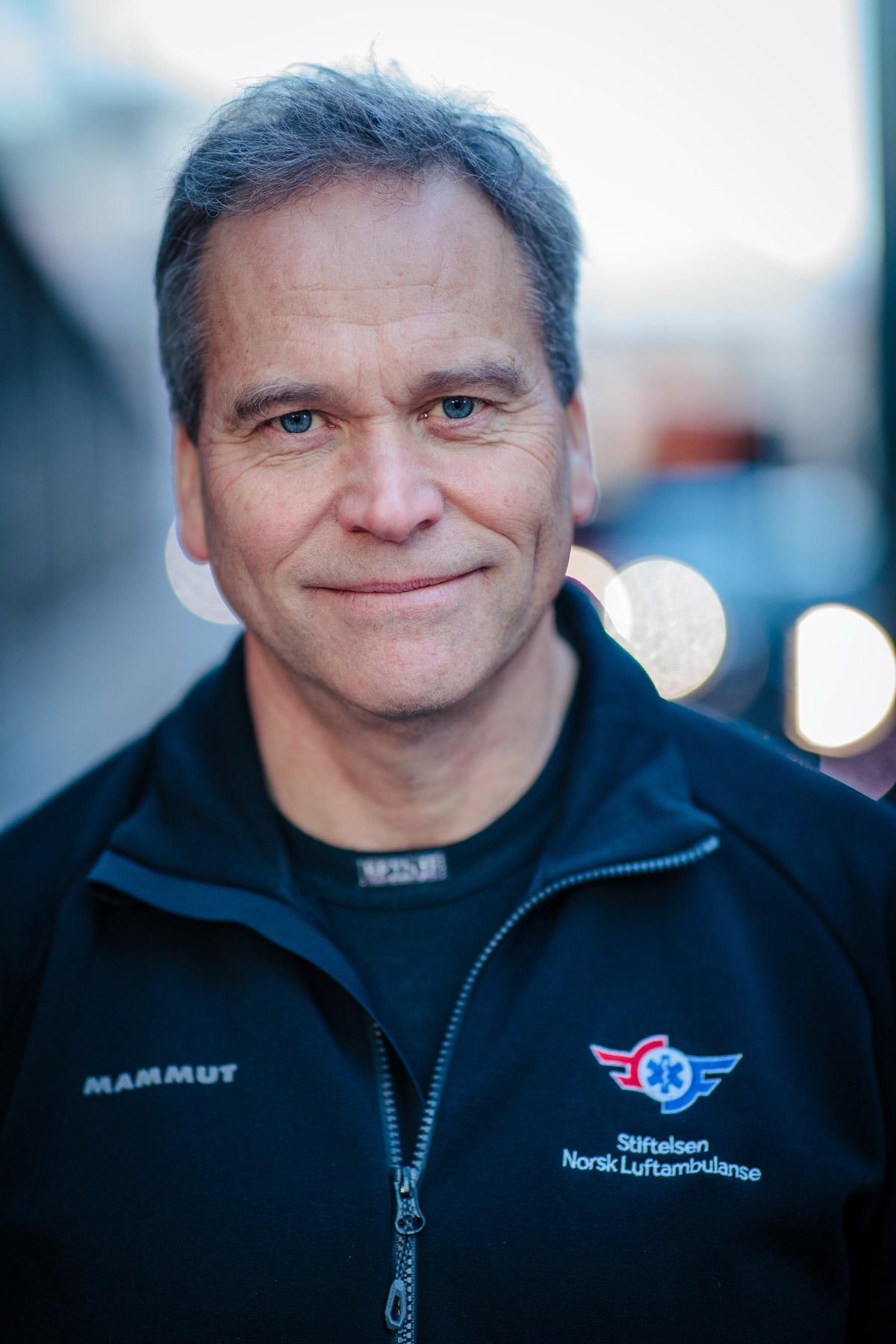 Hans Morten Lossius, generalsekretær i Stiftelsen Norsk Luftambulanse