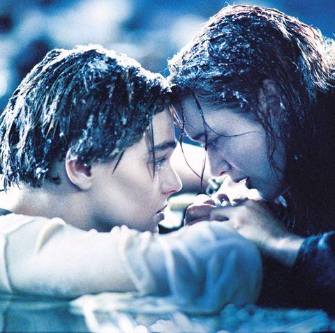 Bilde fra filmen Titanic.