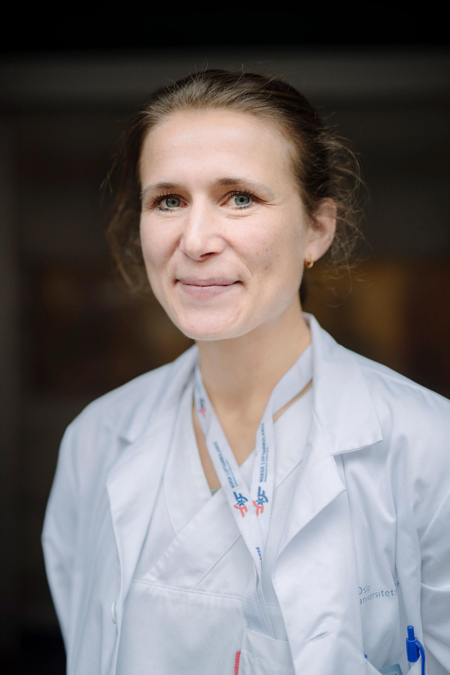 Portrett av forsker Maren Ranhoff Hov.