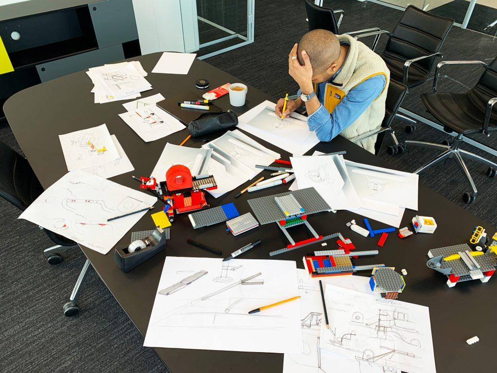 Utvikling av produkter på kontor