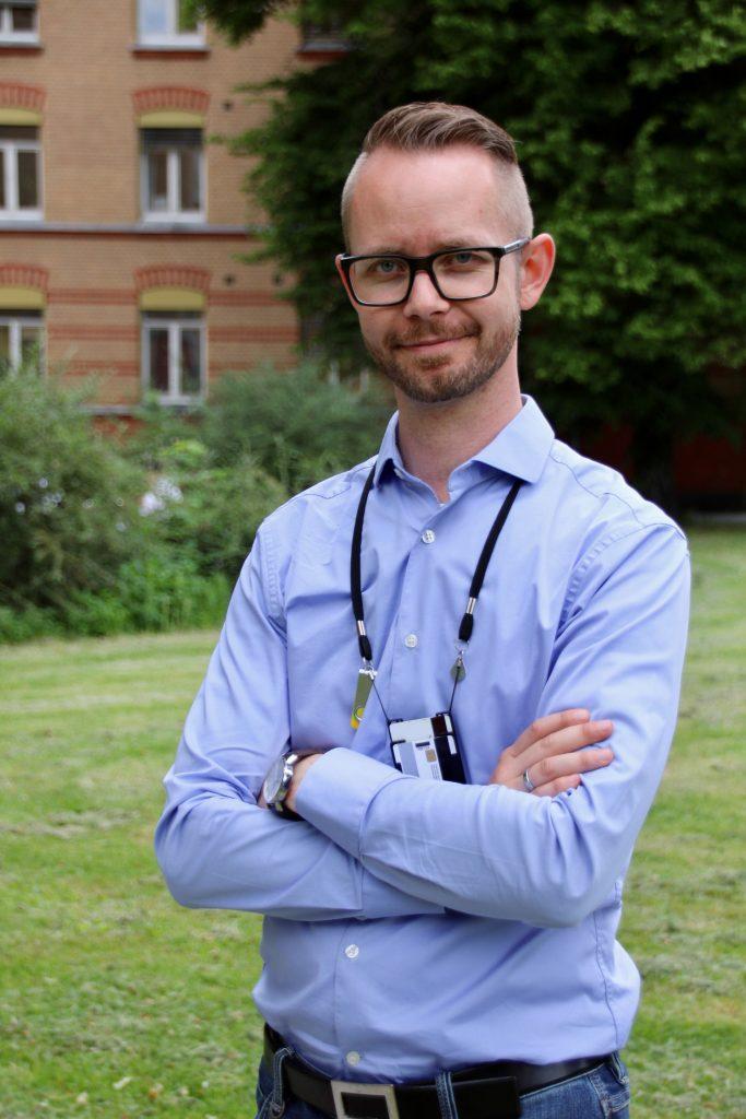 Jørgen Hauge Skogmo er en av initiativtakerne for å få videooverføring implementert i appen «Hjelp 113».